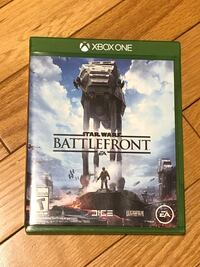 Xbox One Star Wars Battlefront Game - Like New St Albert, T8N 4W5