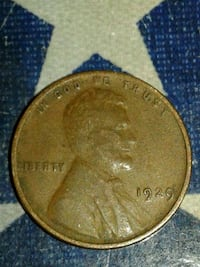 1929 REAL NICE CONDITION WHEAT CENT. Glen Cove