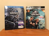 Jurassic World BD and Fallen Kingdom 4K Elkridge, 21075