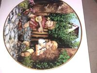MJ Hummel Collectable Plate Sudley Springs, 20109
