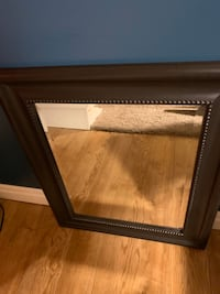 Small brown mirror in excellent condition