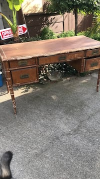 This is a Drexel heritage desk. New $2800.00 needs refinishing but in great operational order. Great piece! Sacrificing this lovely desk at $250.00! A steal!  Napa, 94558