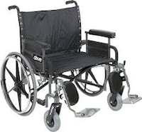 BARIATRIC WHEELCHAIR HD. NEW  211 mi