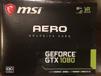 Brand New GeForce GTX 1080 AERO 8G OC Gainesville, 20155
