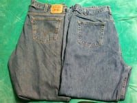 two blue and black denim bottoms Las Cruces, 88005