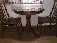 Vintage oak table and chairs Carson, 90745