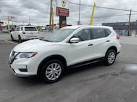 2017 Nissan Rogue S AWD WITH REAR VIEW CAMERA langley, v3a1n2