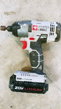Porter Cable impact driver with battery