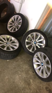Bmw rims and tires Calgary, T3J 4K5