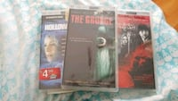 three assorted DVD movie cases Los Angeles, 91405