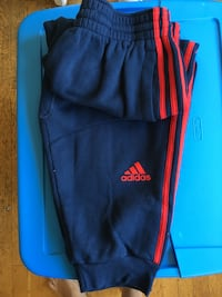 blue and red Adidas jogger sweatpants Oakland, 94610