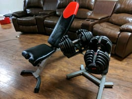 Bowflex Weight Set (comparable to other setups $1000)