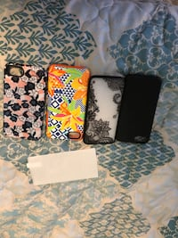 Four assorted color iphone cases Sumter, 29150