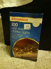 LED cluster string lights Elizabethtown