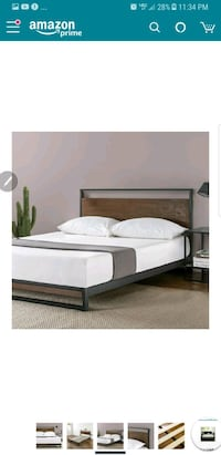 New in the box queen size platform bed frame firm Bakersfield, 93311
