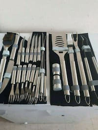 Bbq set never used