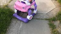 purple and white plastic toy