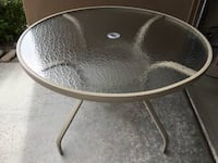 """42"""" Round Glass Café Table and 3 Shae Design Chairs for sale! Scottsdale, 85260"""
