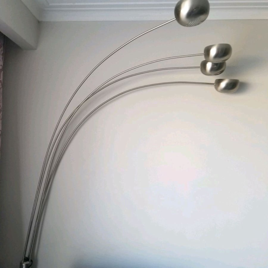 Floor lamp stainless