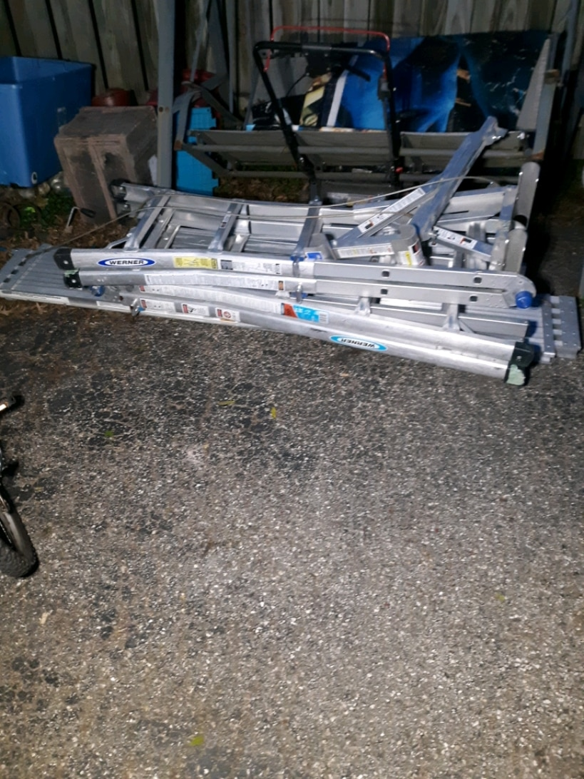 Photo Werner ladders and scaffolding package