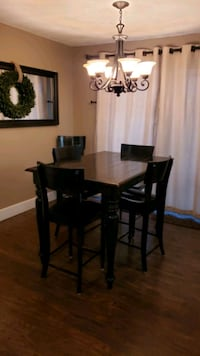 Dining Room Table and Chairs with Leaf