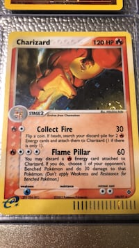 Rare Charizard pokemon card Manassas, 20111