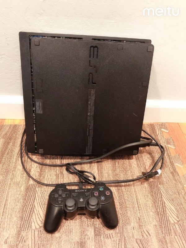 Sony PS3 slim modded console JB Homebrew Multiman PlayStation