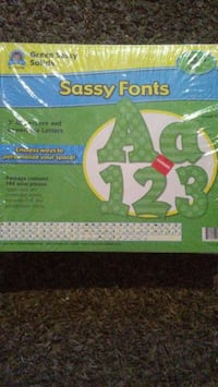 Craft Supplies Bulletin Board Letters Green Bay