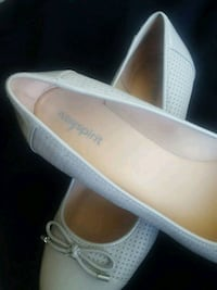 pair of white leather slip-on shoes Burlingame, 94010