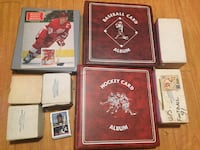 Old Hockey, Baseball and Football Cards