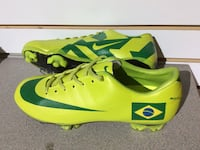 Pair of green-and-yellow Nike cleats Vienna, 22180