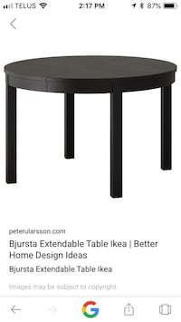 Round table from ikea Laval, H7K 2V3