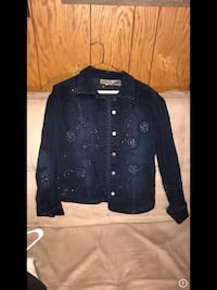 Sparkly denim jacket size small $7 MPU Canyon, 79015