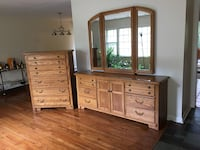Thomasville Dresser and Armoire