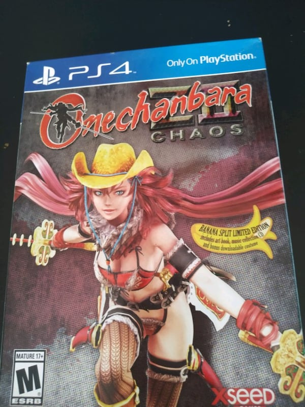 Used Ps4 Game Onechanbara Z2 Chaos Banana Split Edition For