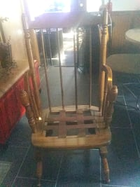 Great condition!!!! Brown rocker just needs a cushion looks new wasn't