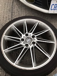 5x112 Prototype VW cc wheels (not mass produced) Oakville, L6H 1J8