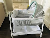 baby's white and gray bassinet Brampton, L6P