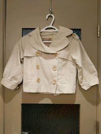 Short beige/jacket blazer size small worn once Calgary, T2E 0B4