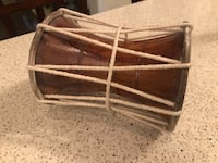 Vintage small double sided handdrum Bowmanville, L1C