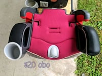 Pink and black booster seat Elon, 27244