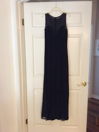 Black Illusion Neckline Dress Laguna Woods, 92637