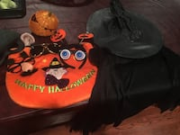 Halloween mystery box. Includes child costume, candy bag carrier, variety of funny glasses and more. East Brunswick, 08816