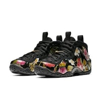 Nike women's floral air foamposite one Vancouver, V7Y 0A1