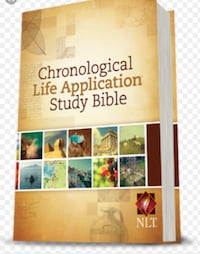 Life application Bible. New 20.00 Mansfield, 44903