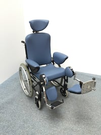 Blue and black wheelchair Surrey, V3T 1B5