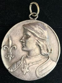 Joan of Arc Table Medal France (Ahipping Available) Toronto, M4V