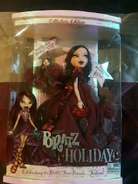 BRATZ COLLECTIBLE1st Time KATIA HOLIDAY NEW IN BOX Woodbridge Township, 08830