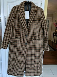 WOMEN'S ZARA PLAID COAT Kitchener, N2H 1C6