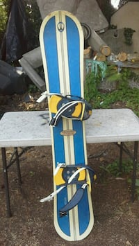WinterStick snowboard with full bindings setup!